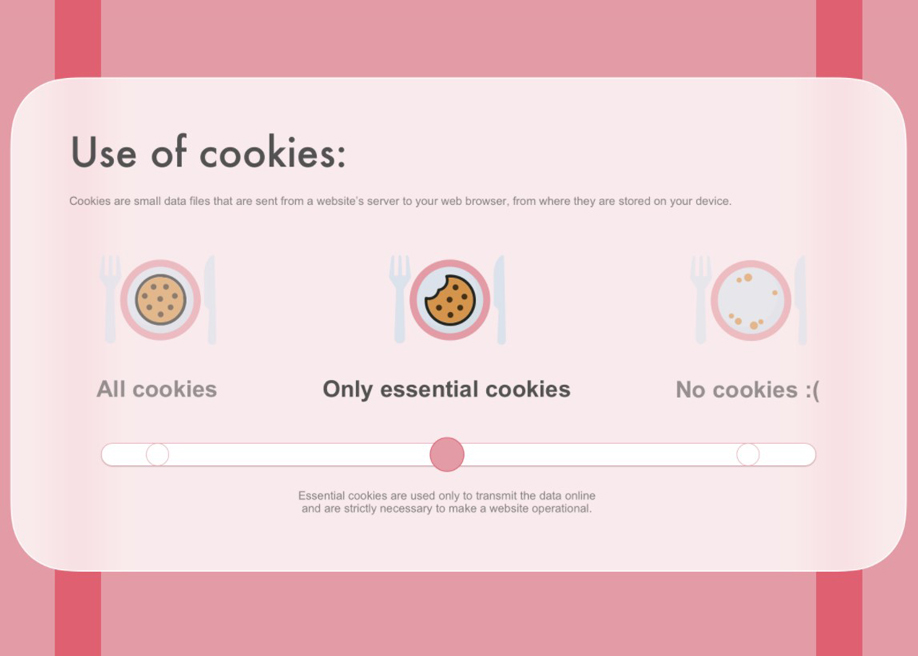 Mary Polson - Cookie policy slider