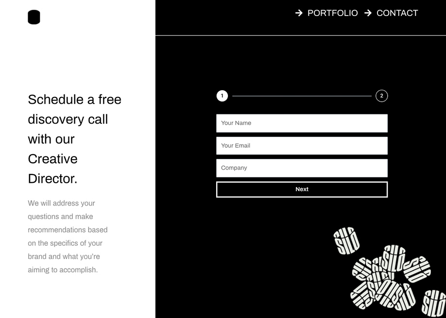 Built By Silo - Contact form