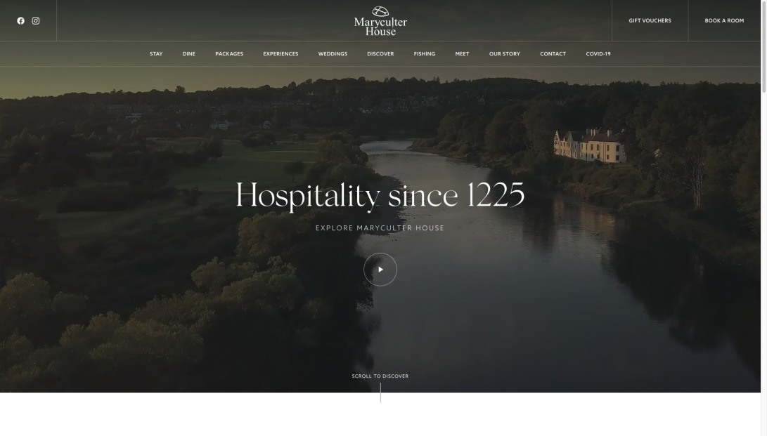 Maryculter House Hotel in Aberdeen - 4 Star Luxury Hotel