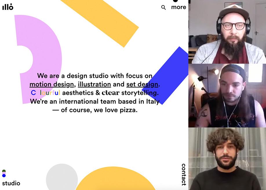 Live Design Jury Website Reviews: Enea Rossi, Matteo Rostagno & Fabio Carretti (in Italian)