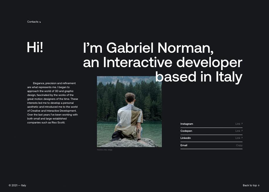 Gabriel Norman Portfolio