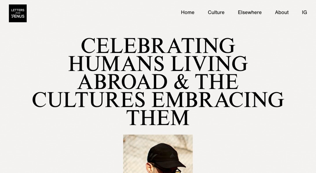 Letters From Venus – Celebrating humans living abroad.