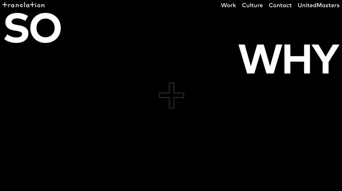 Translation | Creative + Culture