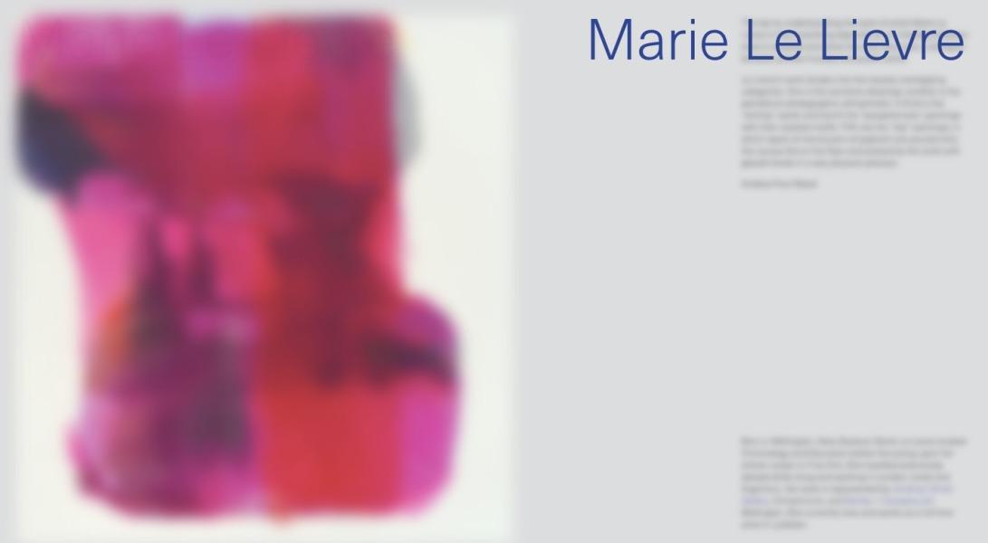 Marie Le Lievre