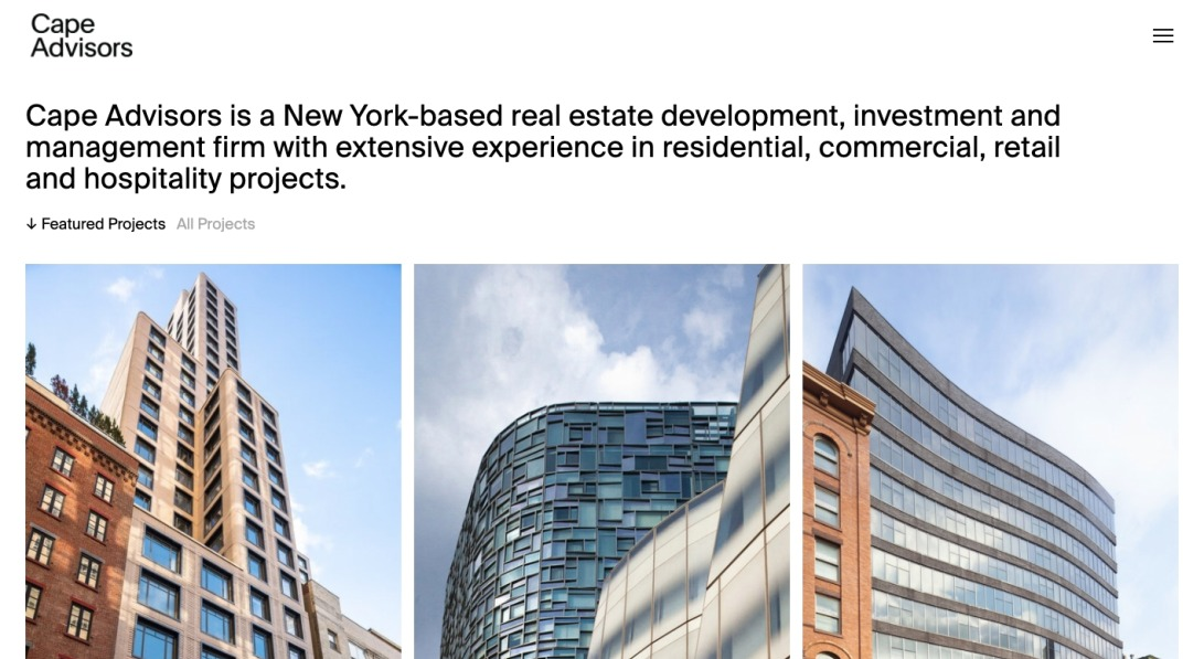 Cape Advisors — Real Estate Development and Investment Firm
