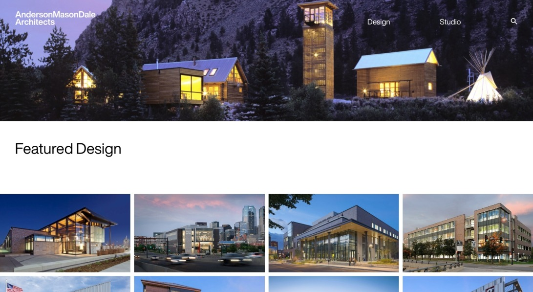 Anderson Mason Dale Architects | Denver Architecture Firm