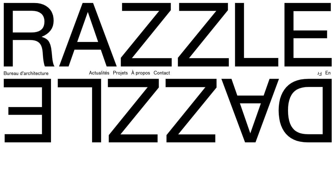 Razzle Dazzle | Bureau d'architecture