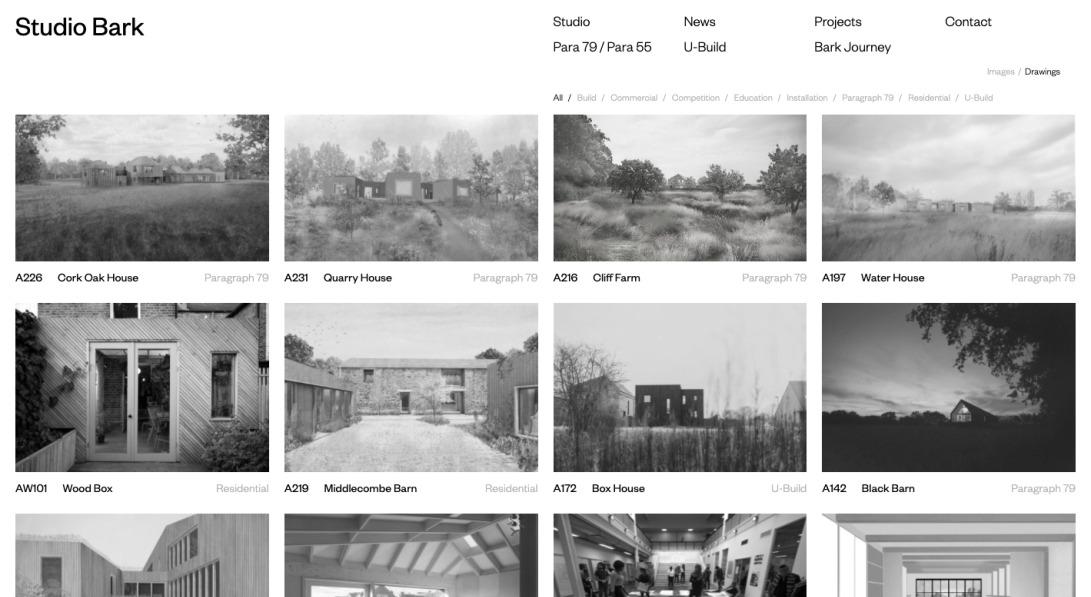 Studio Bark Website - Visit the Home Page