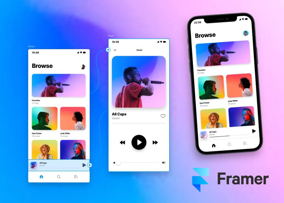 Framer - JavaScript framework tool