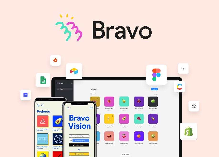 Bravo - No-code app builder