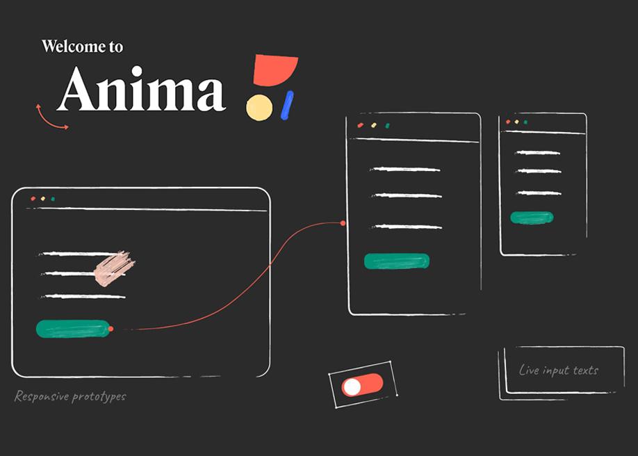 Anima - High-fidelity prototypes inside Sketch, Adobe XD, Figma