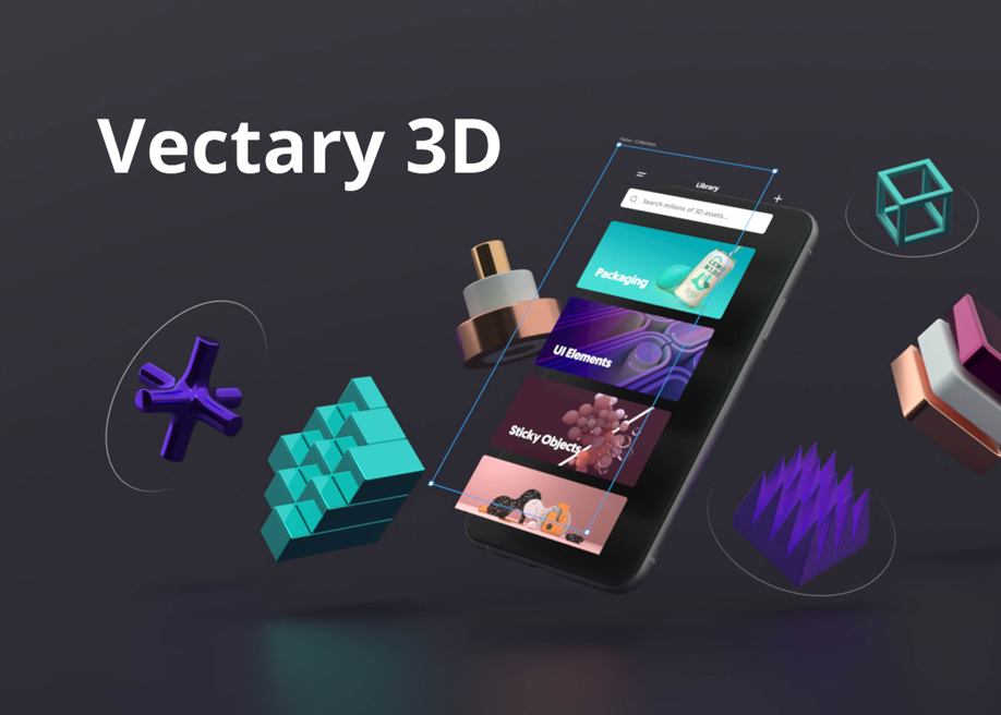 Vectary 3D - mockup tool for 2D projects directly in Figma