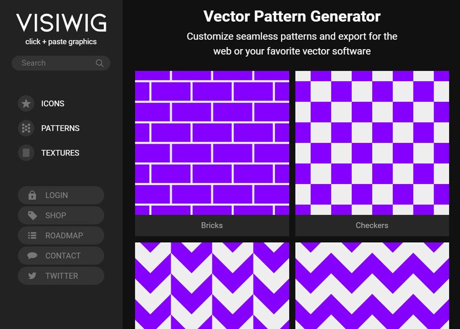 VISWIG - Vector pattern generator