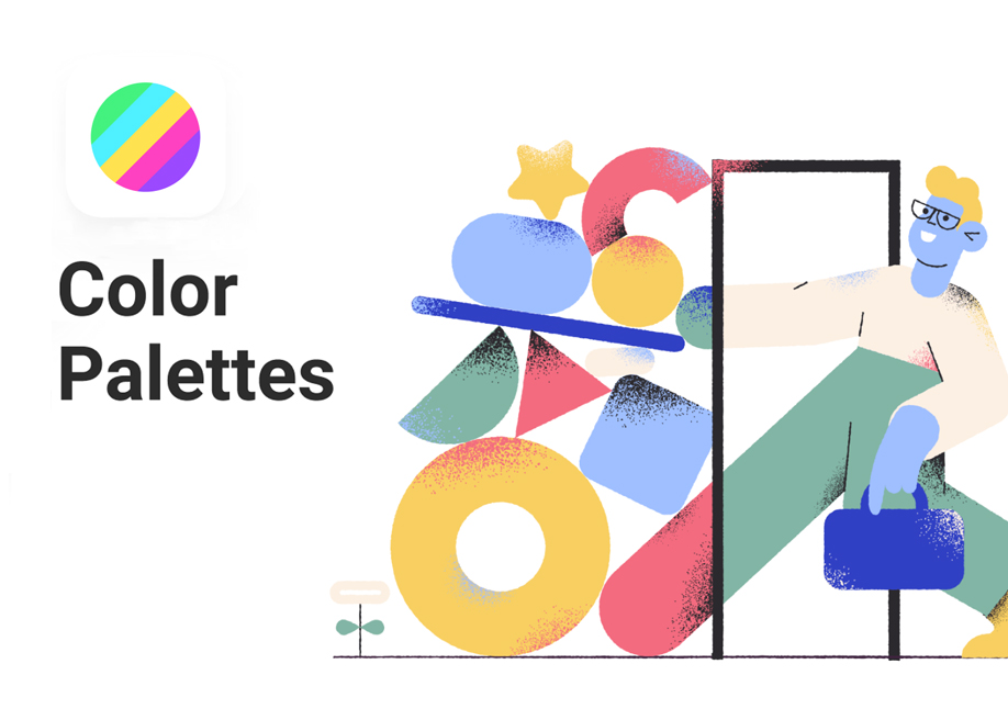 Color Palettes plugin inside Figma