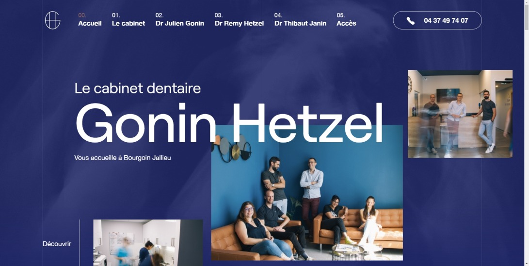 Cabinet Dentaire Gonin Hetzel | Page d'accueil