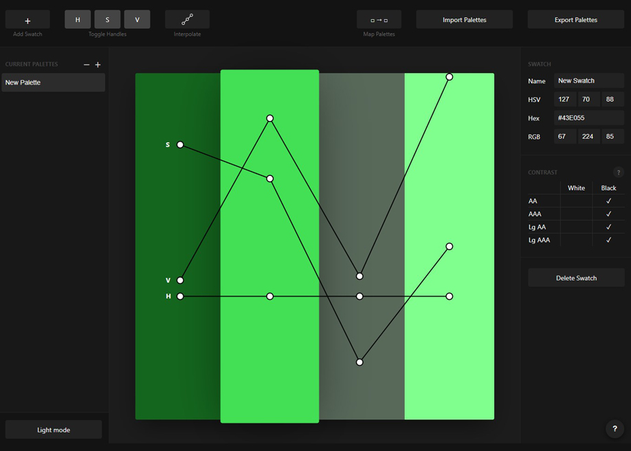 Palette - Remapping and editing color palette tool