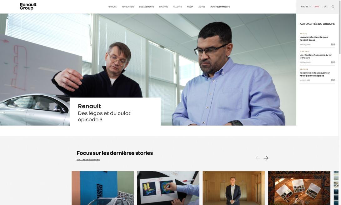 Renault Group, constructeur automobile – Site officiel