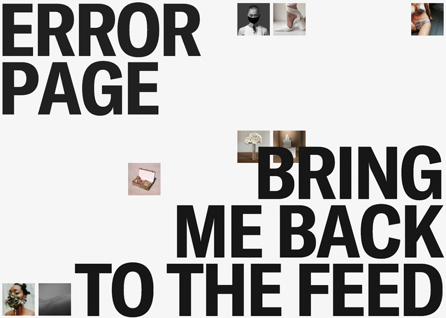 The Covid Art Museum - 404 error page