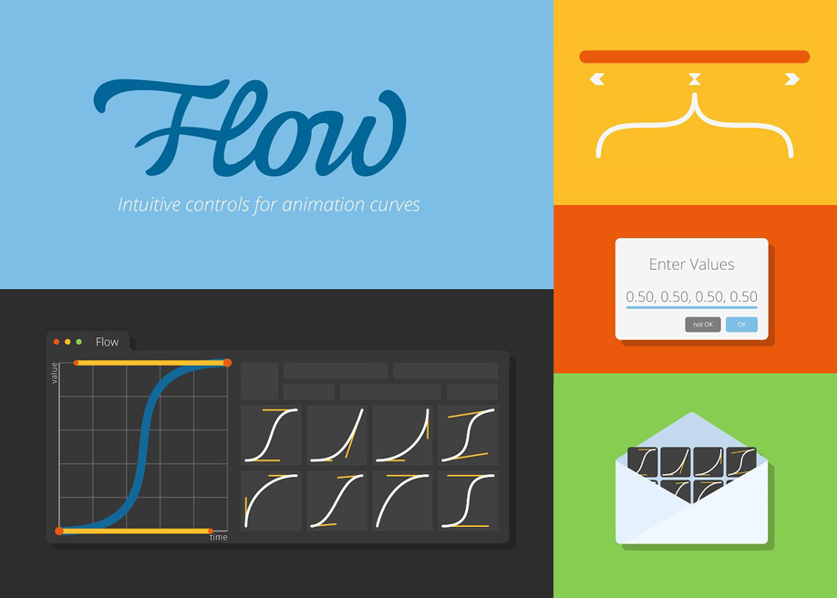 Flow - Easy interface plug-in to After Effects for customizing animation curves