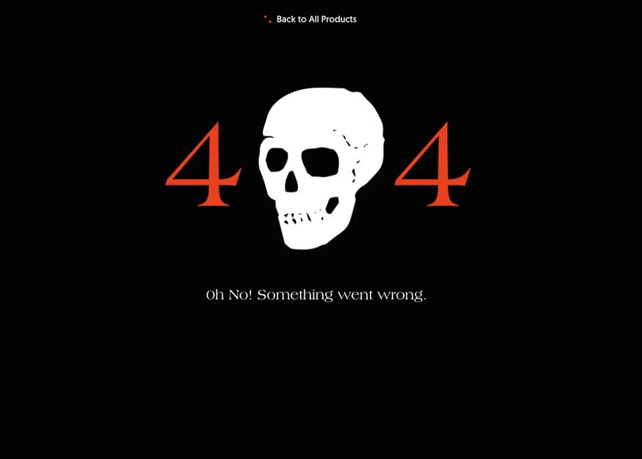 Rogue Studio - 404 error page