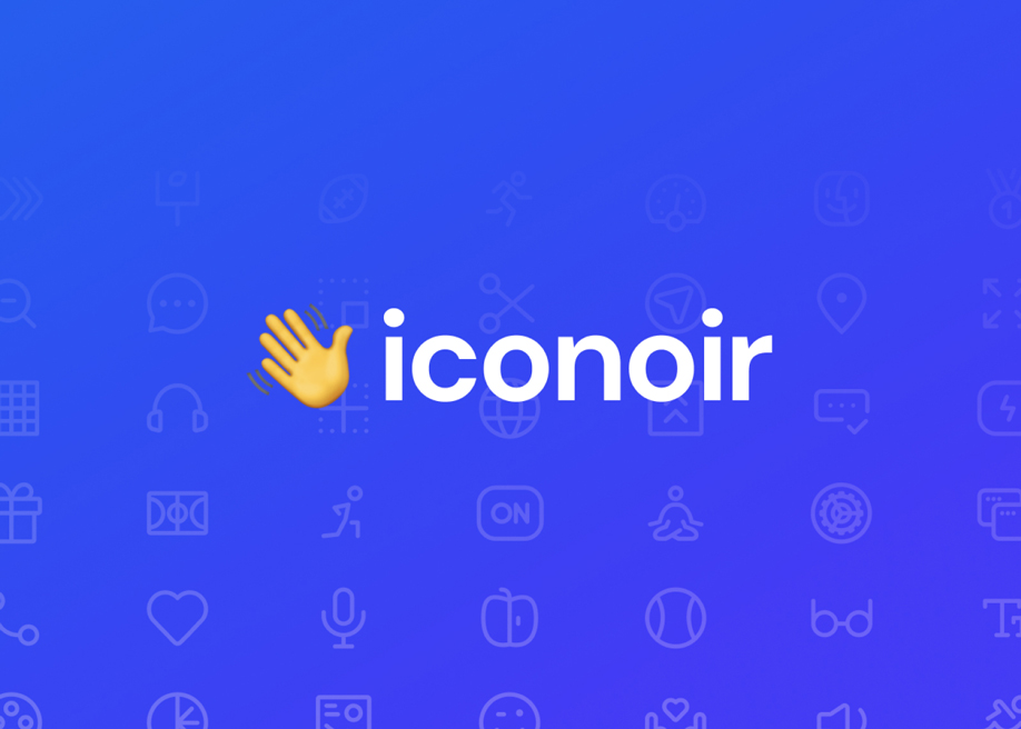 Iconoir - The Definitive Open Source Icons Library