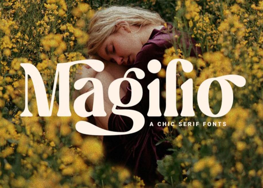 Magilio - Free serif font