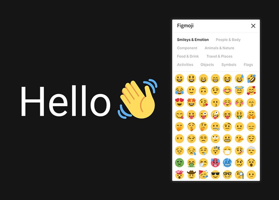 Figmoji - Emoji library for Figma