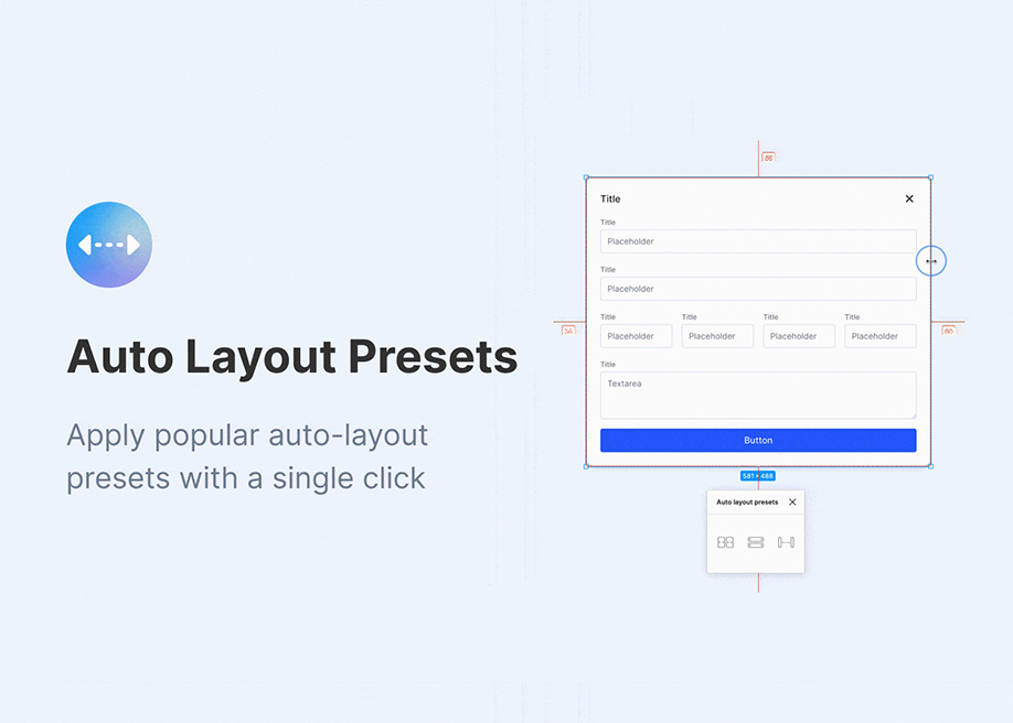 Auto Layout Presets for Figma
