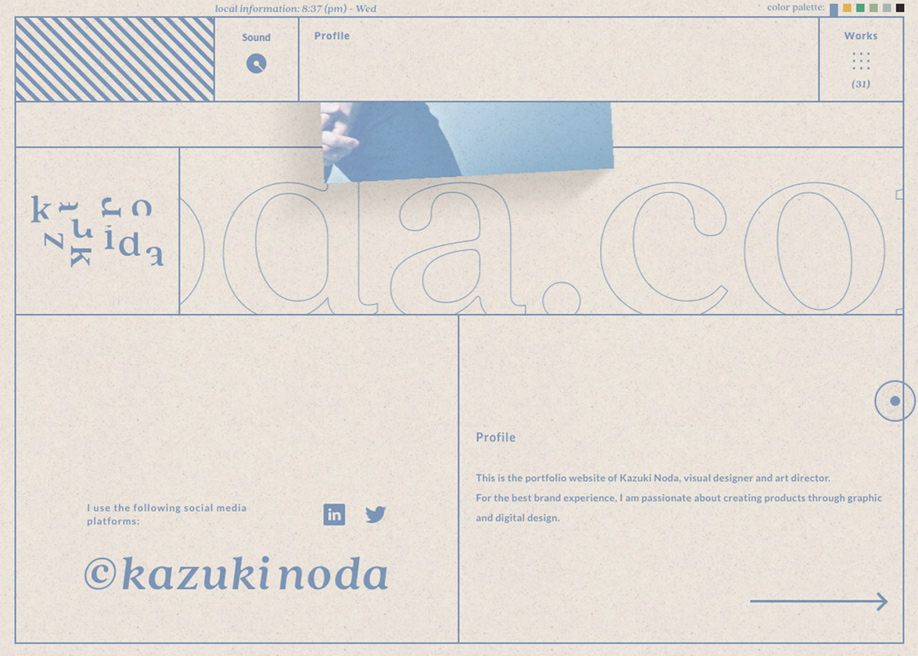 Kazuki Noda - Contact page