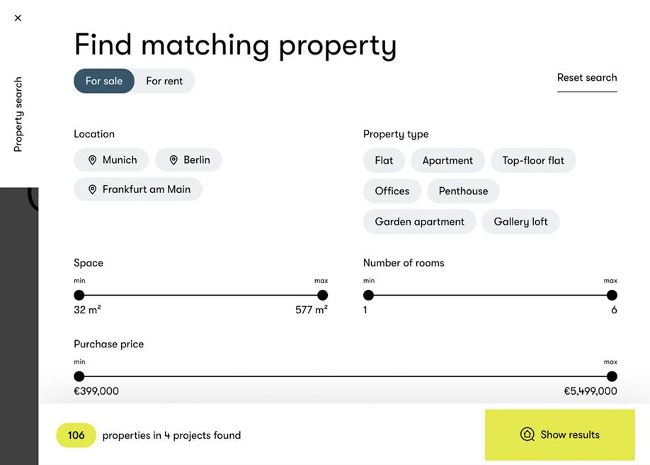 Bauwerk - Find matching property