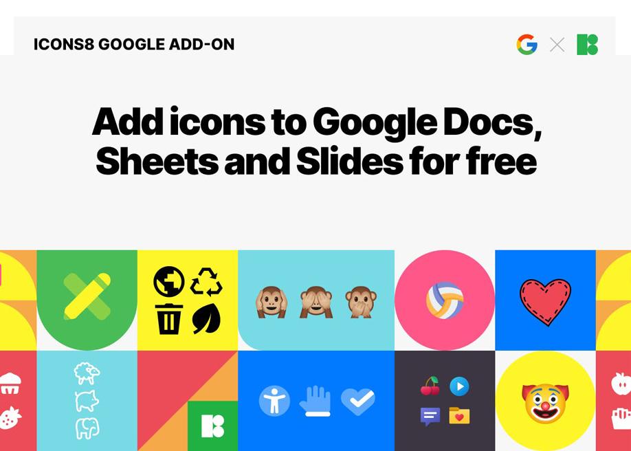 Icons8 Google Docs Add-on