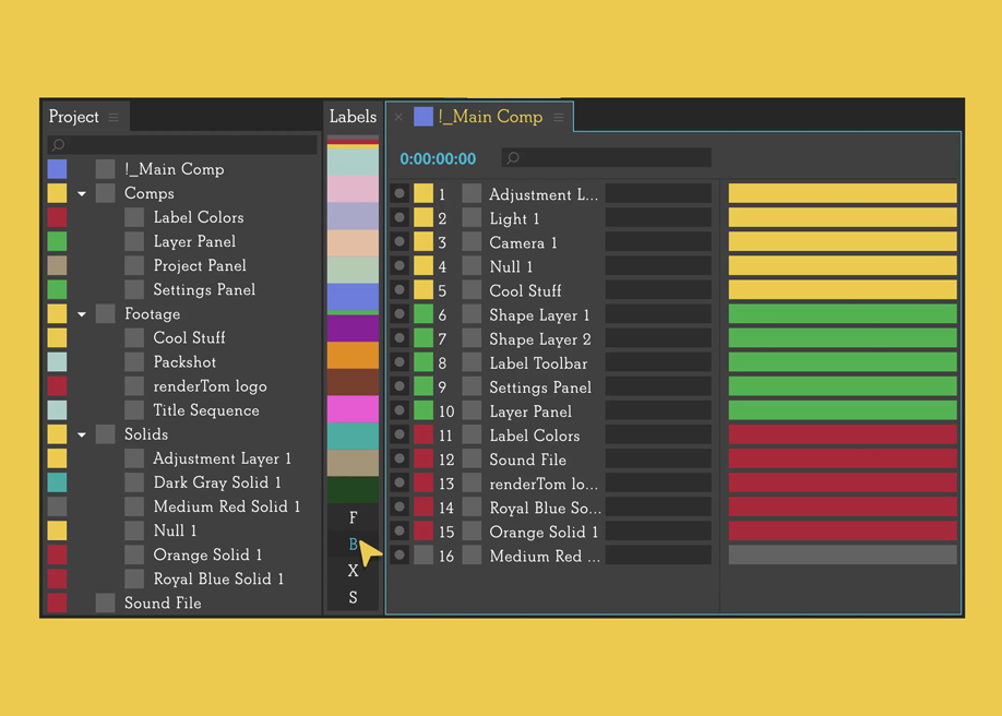Labels - Take full control over Label Colors