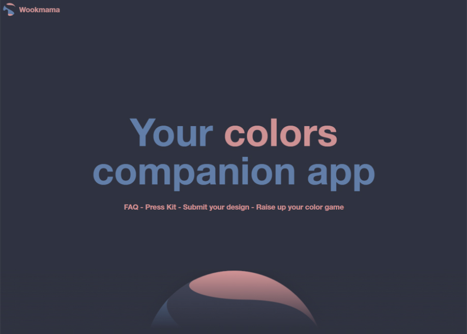 Wookmama - The color visualizer