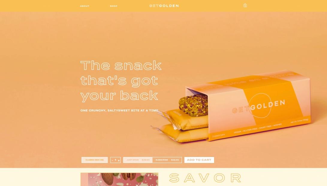 Get Golden — SAVOR Bar