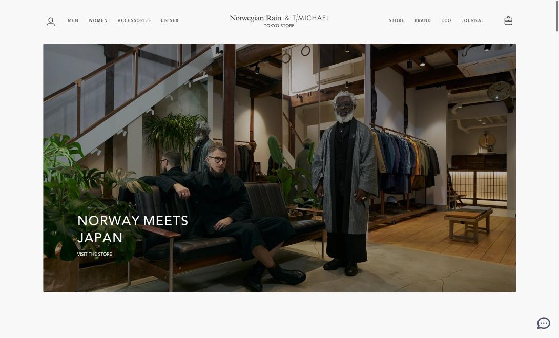 Norwegian Rain & T-Michael Tokyo Store ノルウェージャン・レイン&T-マイケル – Norwegian Rain & T-MICHAEL TOKYO STORE