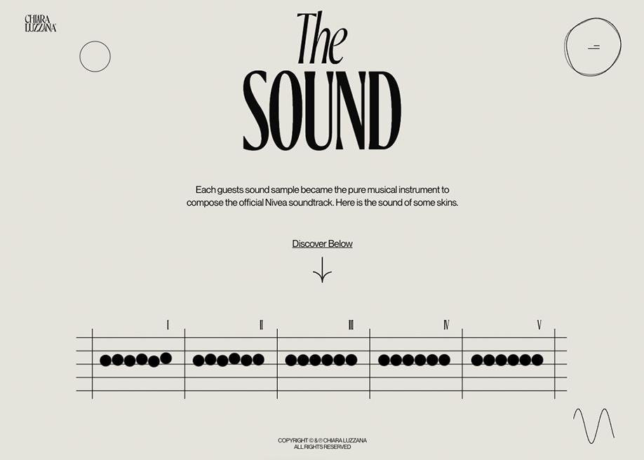 Chiara Luzzana - Sound design