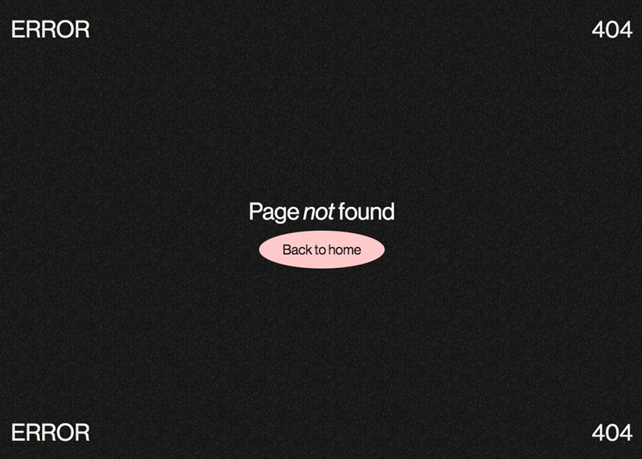 MIRAMACHO - 404 error page