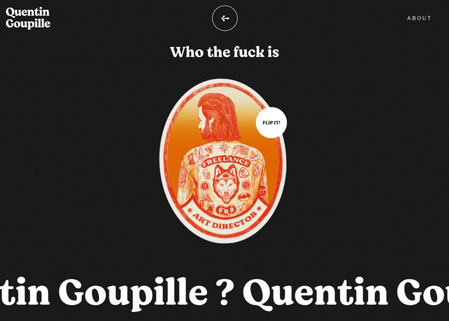 Quentin Goupille - About page