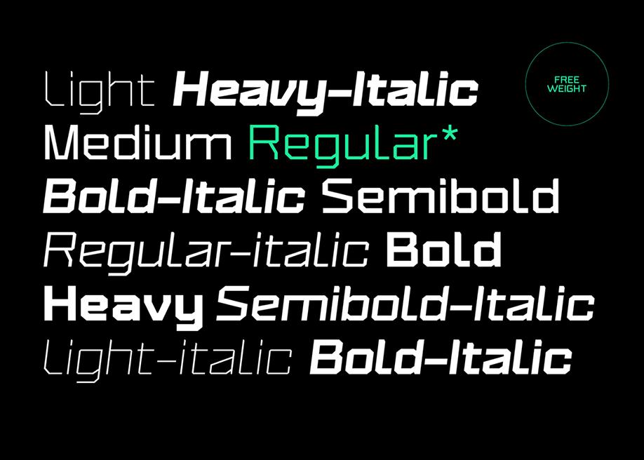 Triakis - Free Regular Weight Font