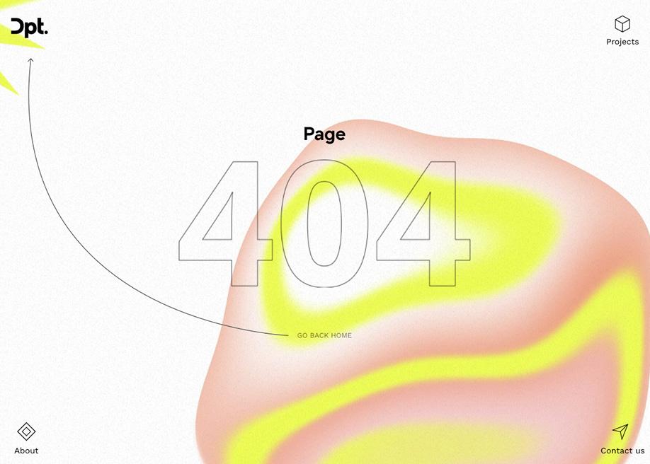 DPT - 404 error page