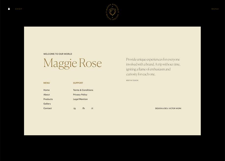 Maggie Rose - Footer