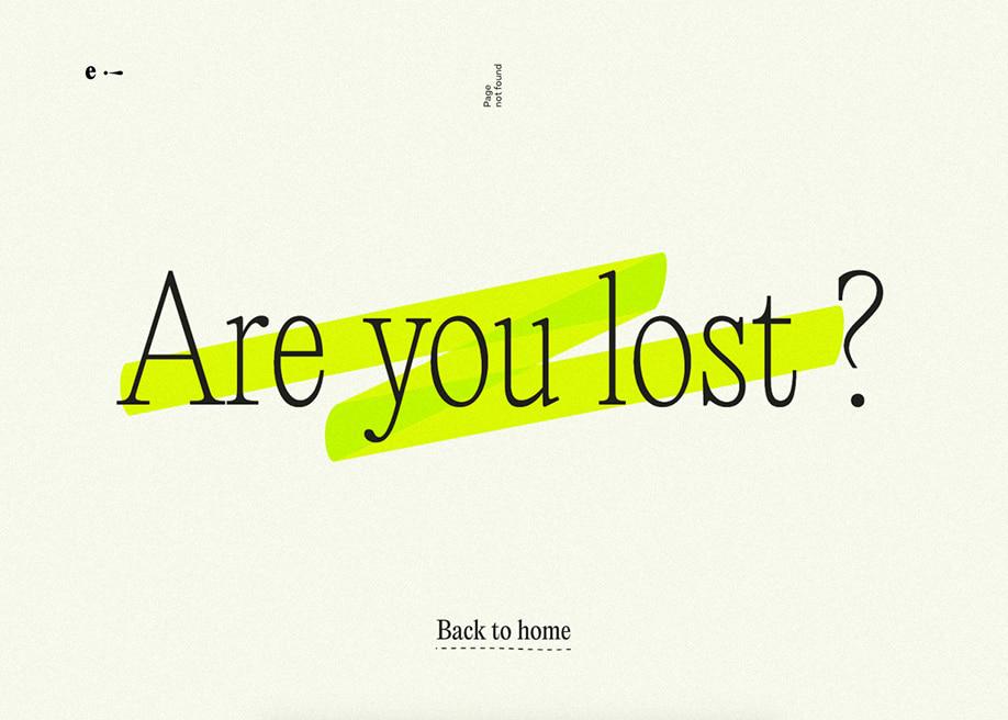 Etienne Barbedette - 404 error page