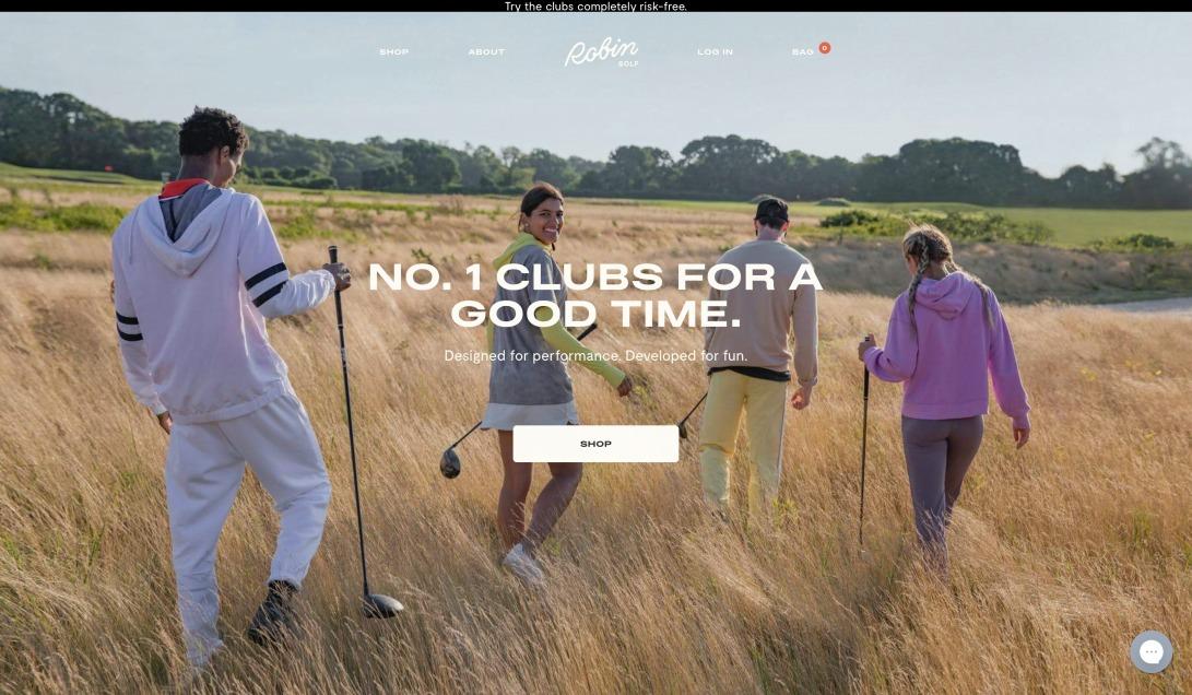 Robin Golf   Designed For Performance, Developed For Fun