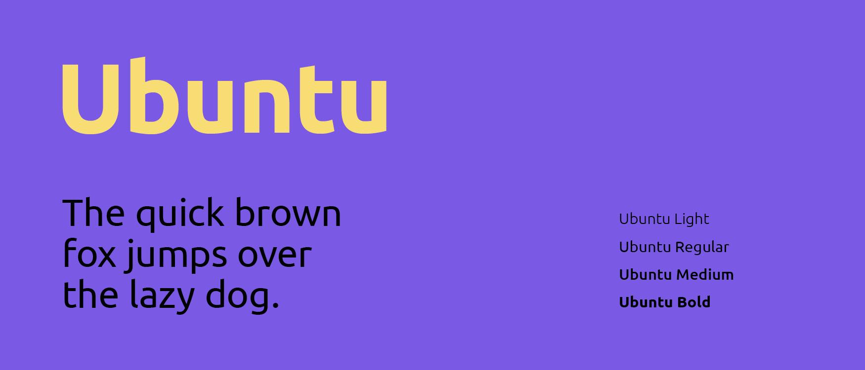 Ubuntu Google Fonts Web Fonts