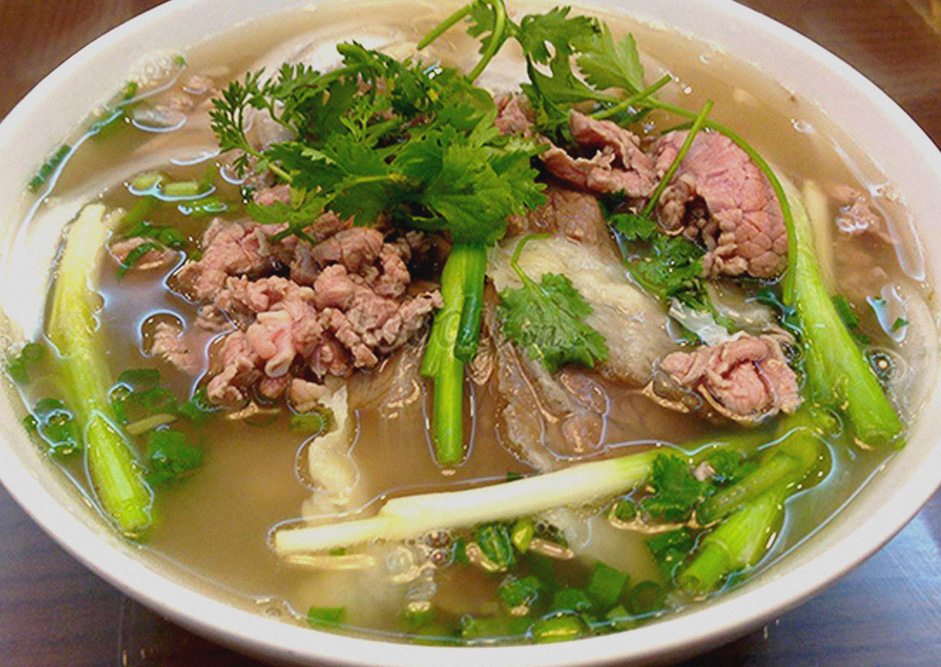 image of pho soup