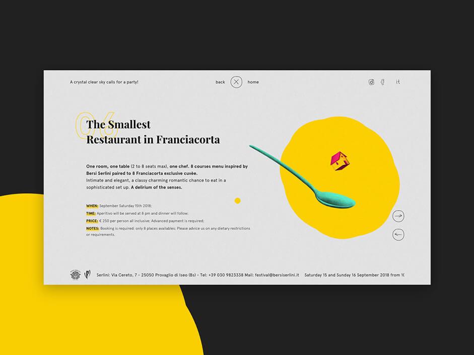 Event page of Festival Bersi Serlini