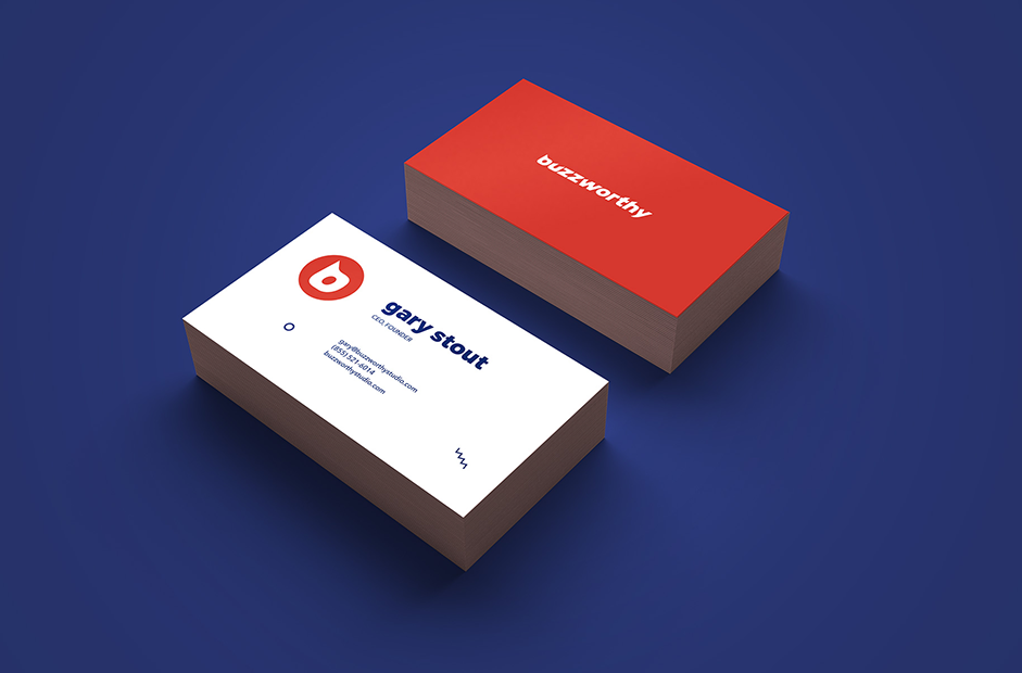 buzzworthy business cards
