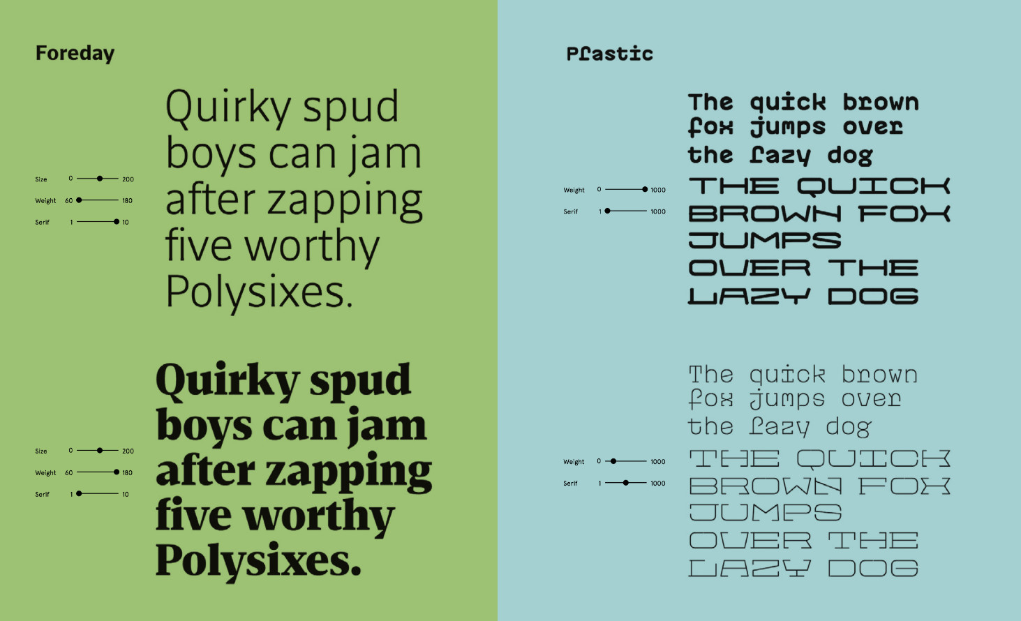 Typography in web design Trends