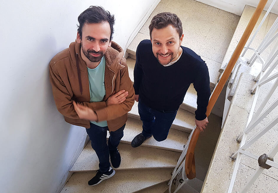 photo of José and Sebastián from Trama studio