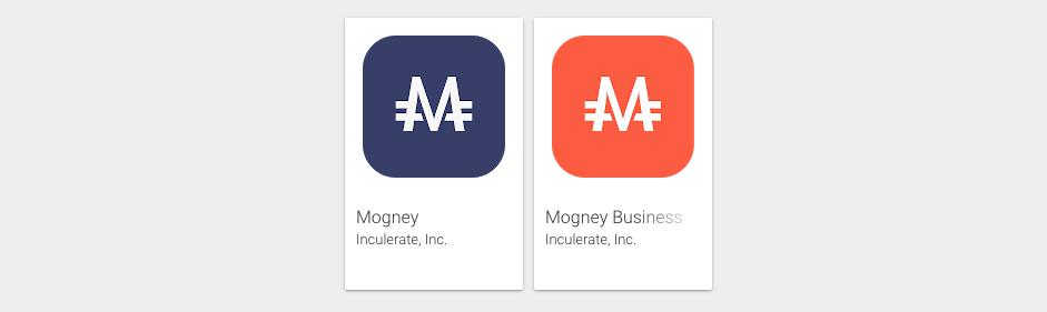 Mogney apps